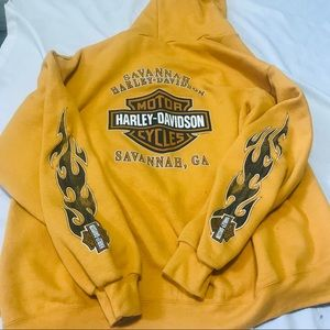 Harley-Davidson hooded sweaters jacket